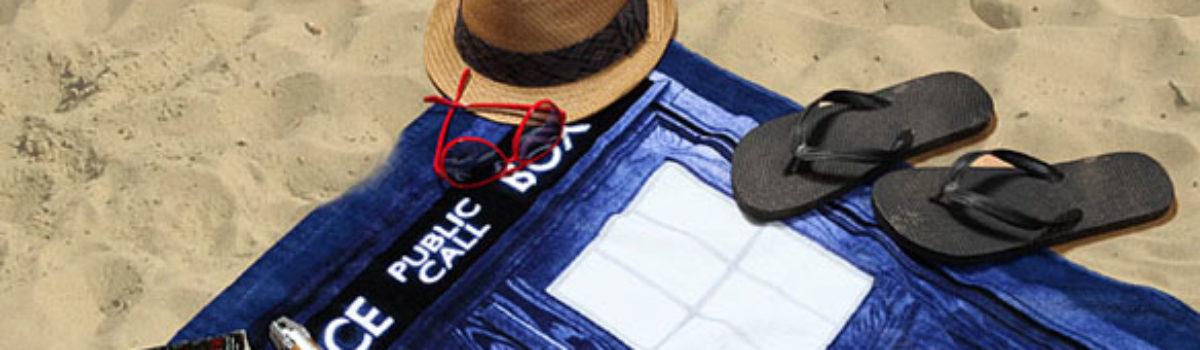 Doctor Who beach towel