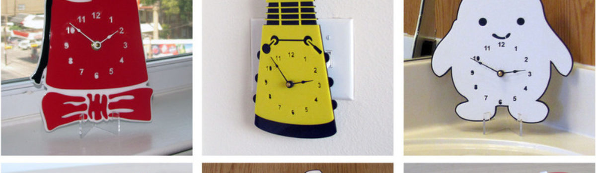 Doctor Who clocks