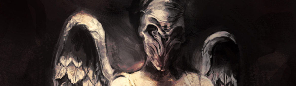 Doctor Who fan art: I've forgotten why I shouldn't blink