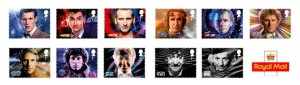 Doctor Who stamps of Royal mail, United Kingdom