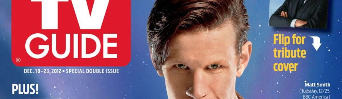 Doctor Who makes TV Guide Christmas cover
