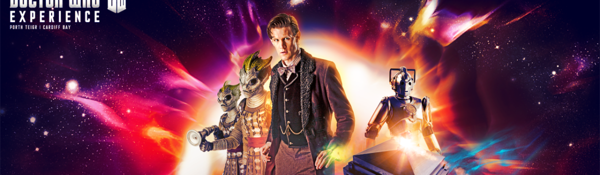 Doctor Who Experience graphic wallpaper