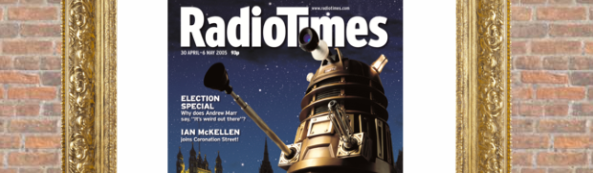 Radio Times' suggestion: Vote Doctor Who's Dalek! for the cover of the century