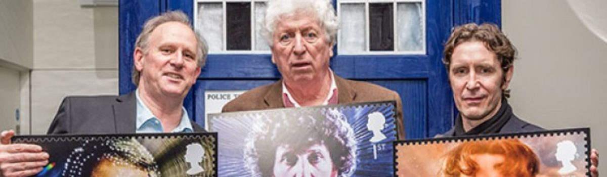 Doctor Who Royal Mail stamps have been released and smash sales records