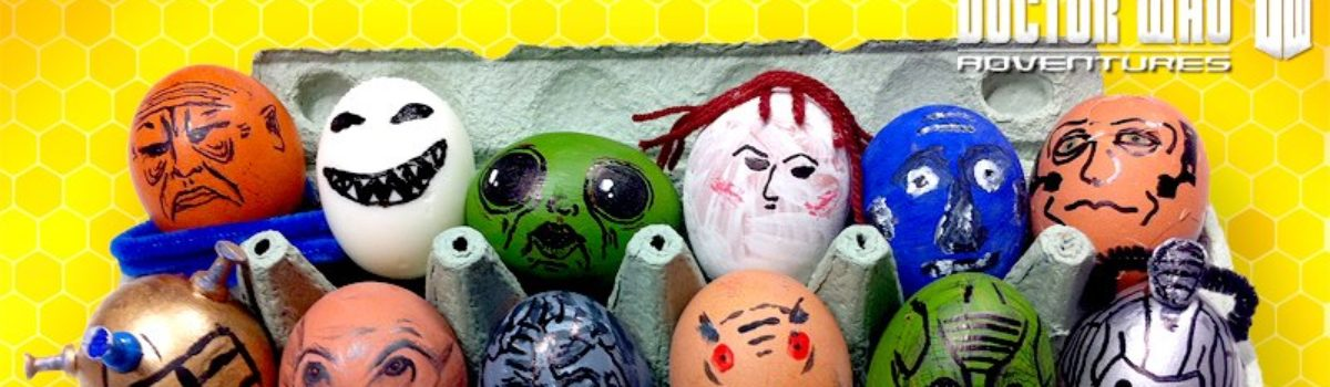 Get creative and create your own Monster Eggs for Easter!