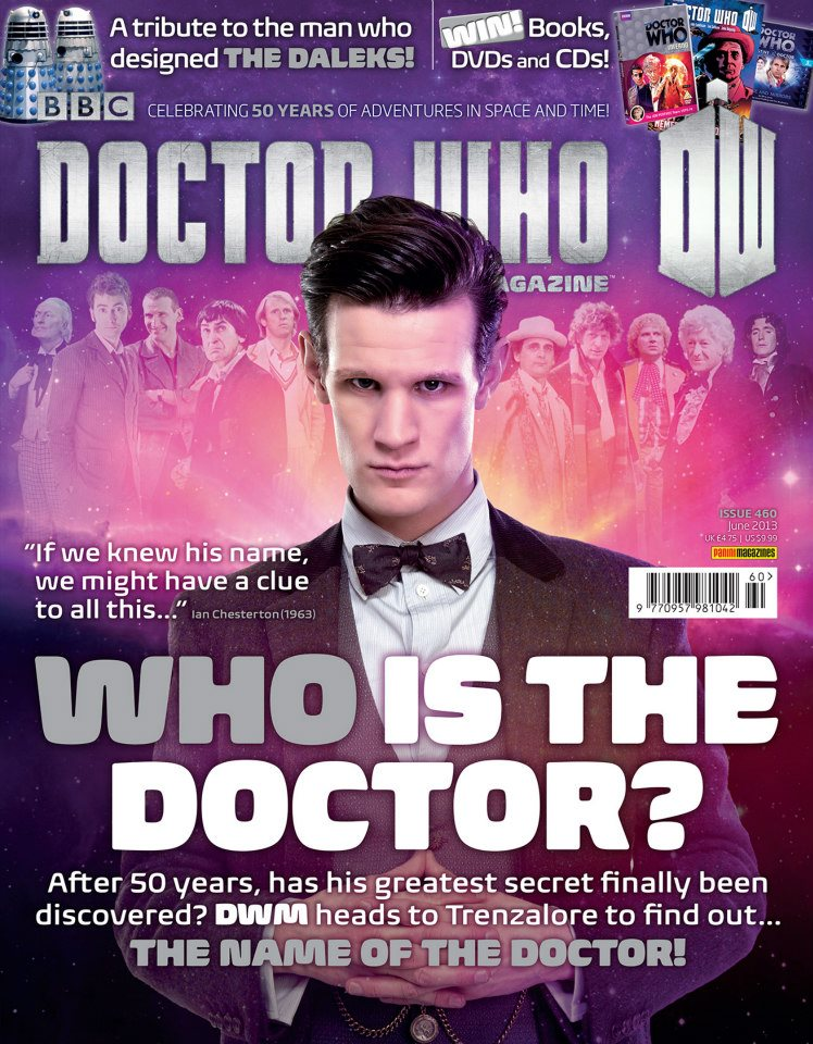 Doctor Who Magazine DWM Issue 460 cover | Doctor Who @ BBC
