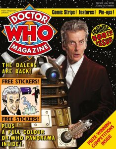 Doctor Who Magazine DWM Issue 500