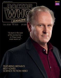 Doctor Who Magazine DWM Issue 503 subscriber exclusive cover.