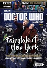 Doctor Who Magazine DWM Issue 507 Christmas 2016 outer polybag