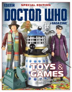 Doctor Who Magazine DWM special 2017 toys games