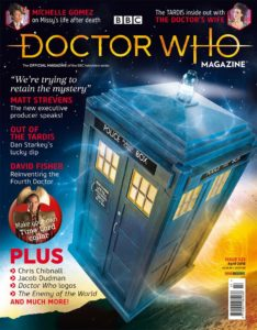 Doctor Who Magazine DWM issue 523