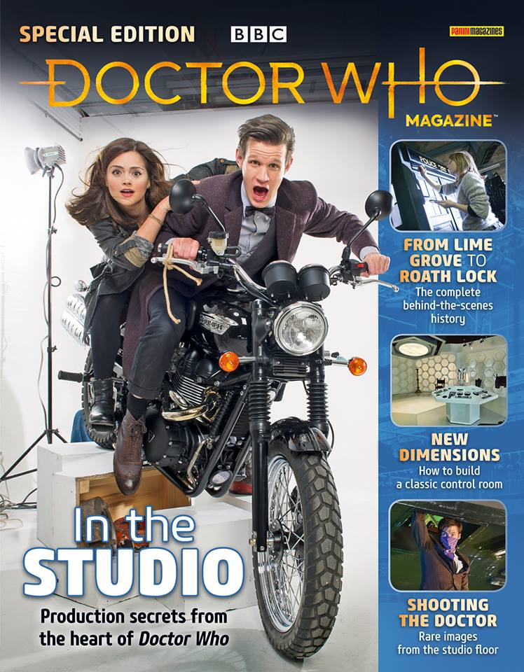 Doctor Who Magazine DWM Special In the Studio