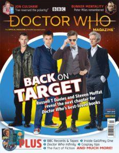 Doctor Who Magazine DWM issue 524