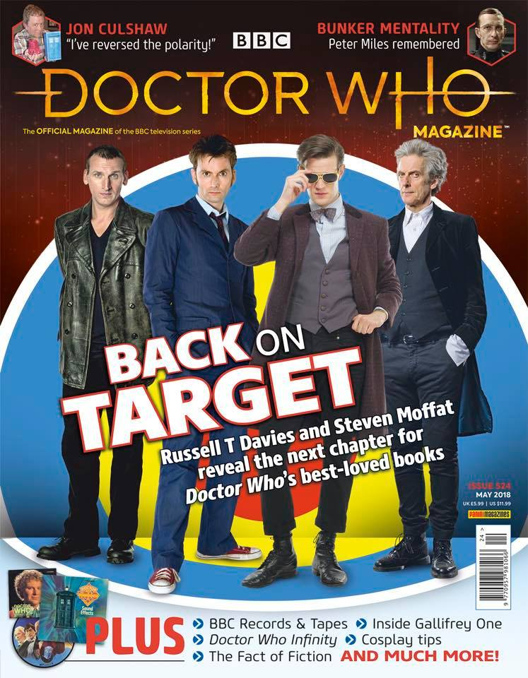 Doctor Who Magazine DWM issue 524