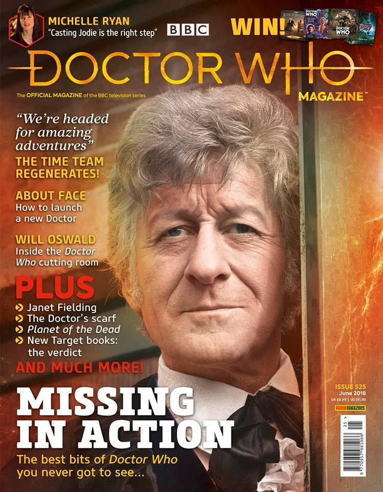 Doctor Who Magazine DWM issue 525