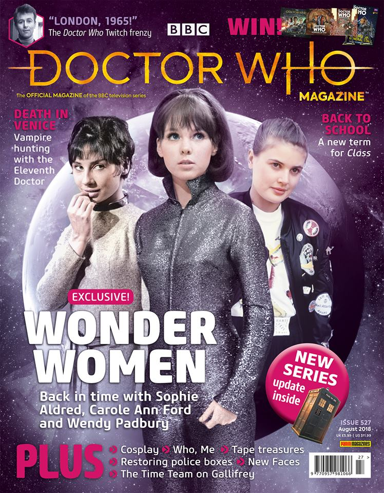 Doctor Who Magazine DWM issue 527