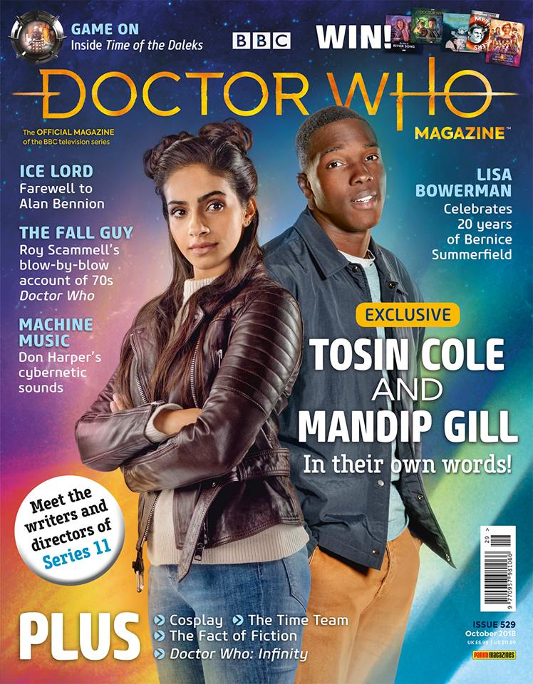 Doctor Who Magazine DWM issue 529
