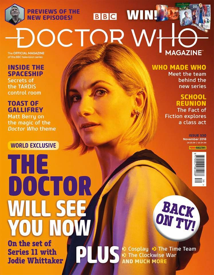 Doctor Who Magazine DWM issue 530