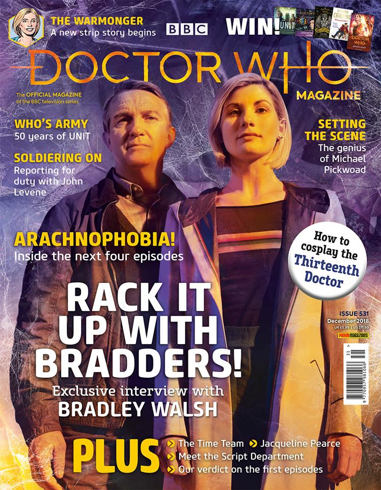 Doctor Who Magazine DWM issue 531